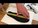 Как правильно измерить стопу или стельку и узнать размер свой ноги