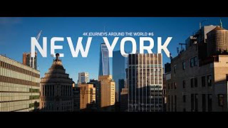 New York Christmas 4k   8k HDR