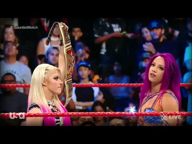 Sasha Banks Becomes NEW No. 1 Contender for the RAW Women's Championship - RAW June 26. 2017 (HD)