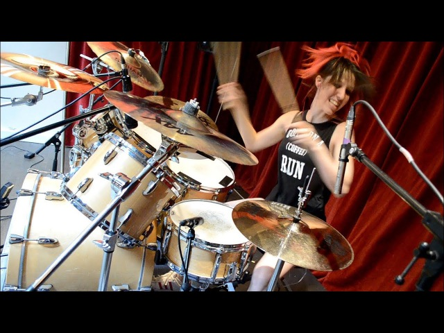 Megadeth Sweating Bullets Drum Cover by Nea Batera