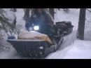 Мотобуксировщик Ураган рыбалка навага Белое Море