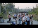 Киев пытается создать заторы на КПП ЛНР у Станицы, накапливая людей в серой зоне