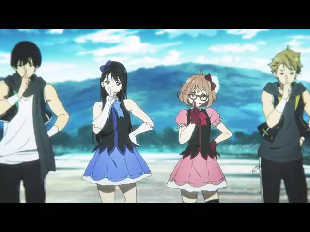 Полный танец из аниме За гранью (Kyoukai no Kanata)