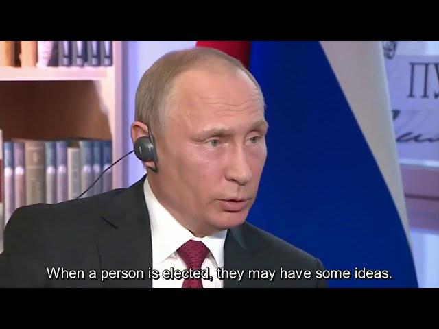 Putin Tells It Like It Is: US Presidents Are Puppets, 'Men in Dark Suits' Rule Washington