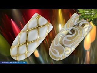 Семинар Real Professional Новогодний карнавалgel-paste часть 4.