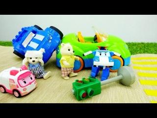 L´incidente sulla strada🐻- #Robocar Poli e i suoi amici- Video per bambini italiano