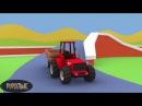Трактор и Комбайн - Мультик про Машины для детей