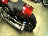 V-ROD MUSCLE with Vance &amp Hines Indy Outlaw Slip-on mufflers and H-D SE Super Tuner