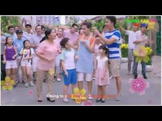 Quang cao cho be - Giúp Mẹ Lo Tết - Đón Xuân Sum Vầy - Bài hát quảng cáo Tide