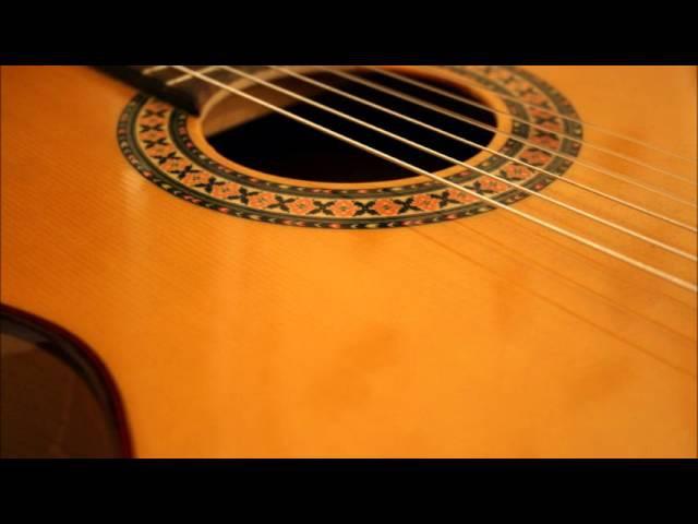 Canción a guitarra española más bella del mundo - TORERO