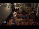 PS1 Resident Evil 1 Advanced, Chris ONLY KNIFE - 12. Последний рубеж Финал