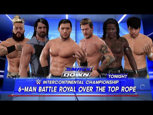 Fandango vs. Chris Jericho vs. Seth Rollins vs. R-Truth vs. Enzo Amore vs. Hideo Itami