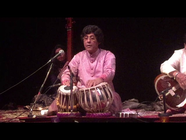 Pt Anindo Chatterjee Live Tabla Solo in Den Haag, 14th October 2016 Netherlands