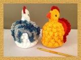 Galinha Pipoca Chicken croch