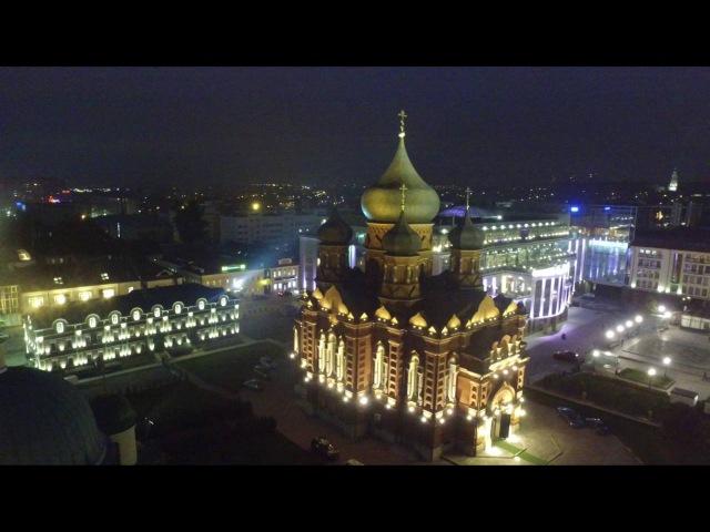 Вечерняя Тула, площадь Ленина