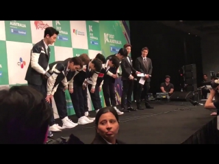 [CUT] 170922 KCON in Australia 2017: Red Carpet @ EXO
