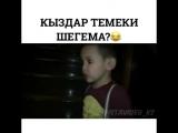 Кыздар Темеки шегема)