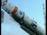 Запуск ракетоносителя Циклон-3 .mpg