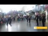 ?? #No_comment: Военный оркестр Минобороны Узбекистана выступил на Ленинградском вокзале в Москве. https://t.me/joinchat/AAAAADv