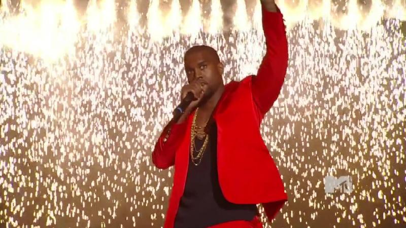 Kanye West feat Pusha T - Runaway (MTV VMA 2010)