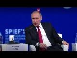 Топ высказываний Путина на ПМЭФ-2017