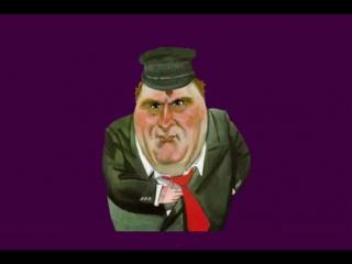 Футаж (хромакей) - Прикол - Жириновский поздравляет с днём рождения и дарит маши