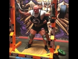 Уэйн Хоулетт - присед 350 кг