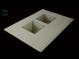 Как нарисовать простой 3D рисунок Иллюзия 3Д колодцы