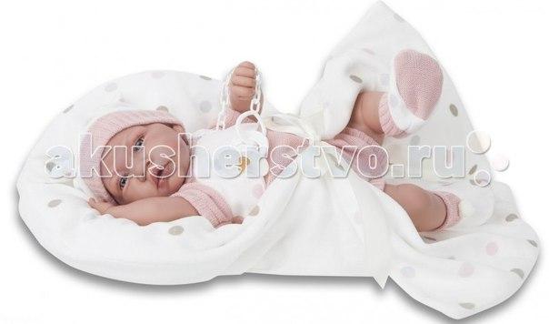 Кукла санти озвученная 40 см, Munecas Antonio Juan
