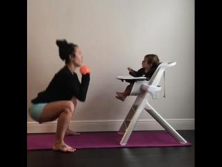 Упражнения для молодых мама
