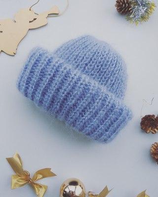 Вязаные шапочки, снуды и шарфы