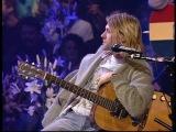 Nirvana Unplugged Kurt talks about a childhood cartoon