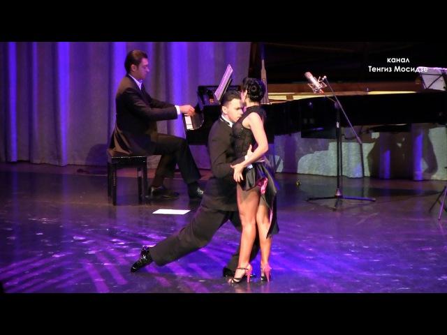 "Tango ""Patético"". Dmitry Vasin Carla Espinosa with ""Solo Tango"" orchestra. Танго."