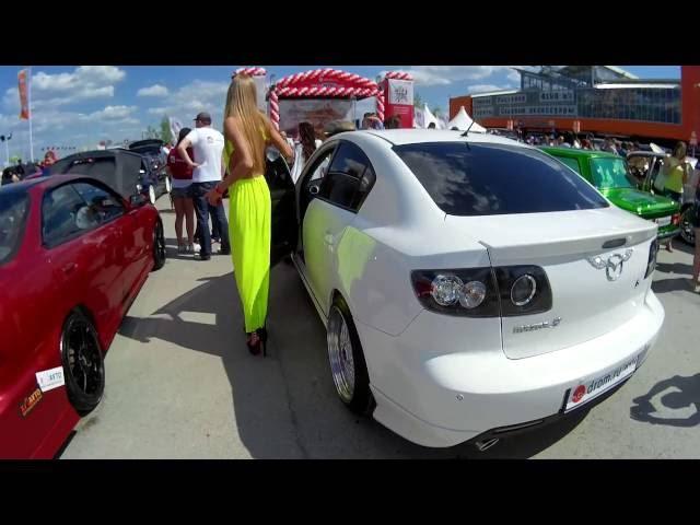 УралМоторШоу 2016 Mazda 3 Blond:ish Mazdagirls