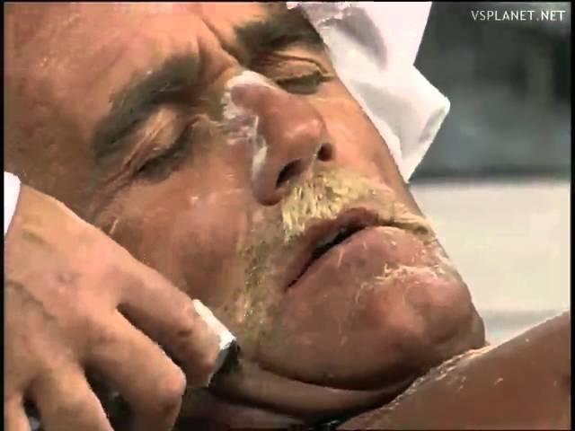 Hulk Hogan's mustache shaved, WCW Monday Nitro 02.10.1995