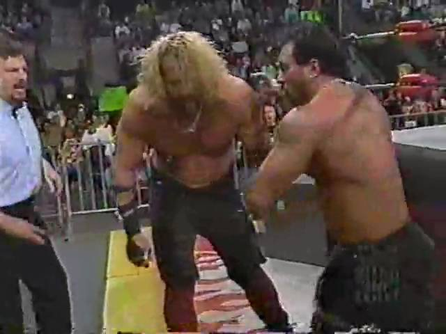 (04.20.1998) WCW Monday Nitro Pt. 12 - Saturn vs. Van Hammer
