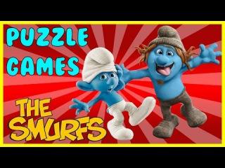 Surprise Show Puzzle - The Smurfs. Собираем пазл - Смурфики новый мультик пазл