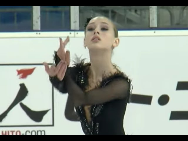 2016 ISU Junior Grand Prix Ljubljana Ladies Short Program Alisa LOZKO RUS