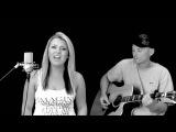 Love The Way You Lie - Krista Nicole Acoustic Cover feat. Mars Raps - Eminem ft. Rihanna