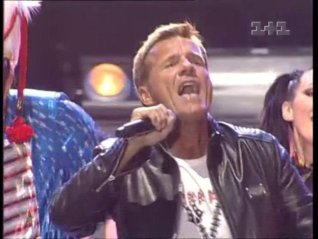 Dieter Bohlen - Modern Talking Medley Live Discoteka 80 Moscow 2009