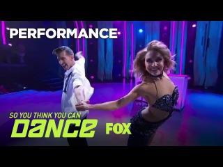 Jenna & Kiki's Ballroom Performance | Season 14 Ep. 8 | SO YOU THINK YOU CAN DANCE