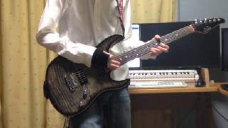 【ギター】狂乱 Hey Kids!! / THE ORAL CIGARETTES【ノラガミARAGOTO OP】Guitar cover
