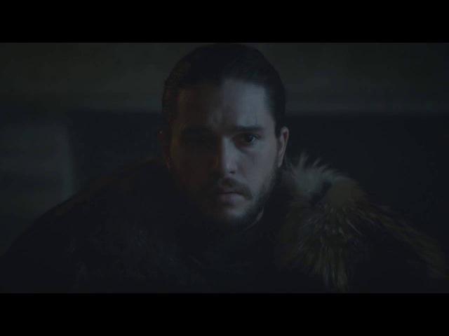 Игра престолов 6 сезон 10 серия - Джон сноу король севера