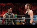 WWE 2K17 Elimination Tornado Tag   Dean Ambrose and Finn Bálor vs. The Rock and John Cena