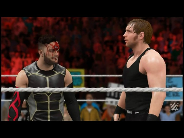 WWE 2K17 Elimination Tornado Tag | Dean Ambrose and Finn Bálor vs. The Rock and John Cena