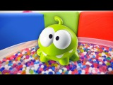 #çizgifilm oyuncakları - Om Nom ve şekerler ?☺️️. Çocuk oyunları, #Orbeez ve sürpriz yumurtalar ?!