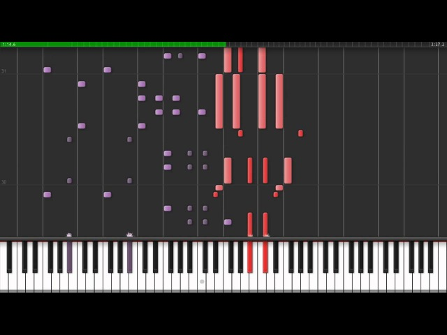 Heroes of Might Magic III - Necropolis Theme (Synthesia)