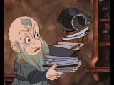 Blunt the Knives! Bend the Forks! the Hobbit 1977 Cartoon  Bilbo meets Dwarves n Gandalf  hare clip