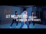 LET ME LOVE YOU(TIESTO REMIX ) - DJ SNAKE(FEAT. JUSTIN BIEBER ) DOOBU CHOREOGRAPHY