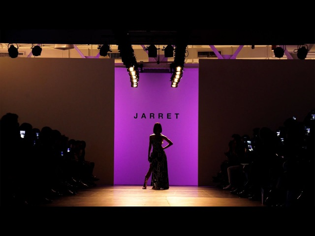 Lia Kim Purple Cloud - traila $ong Freestyle Performance at Jarret NYFW 2017 fw Show
